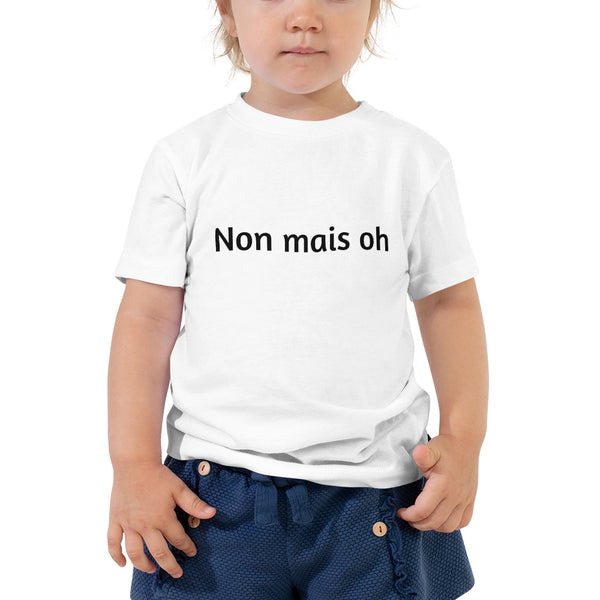 George & Georgette, Non mais Oh T-Shirt (Toddler), , mismatched shoes