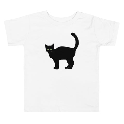 Black Cat T-shirt (Toddler)
