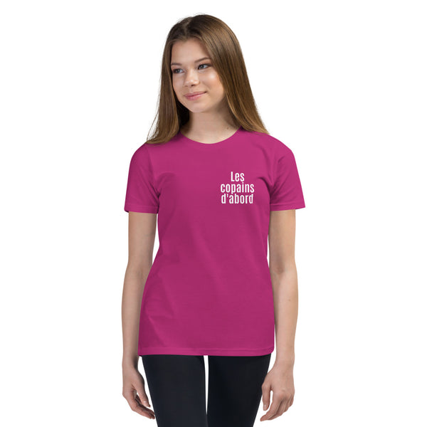 Les copains d'abord / Friends first T-Shirt (Youth)