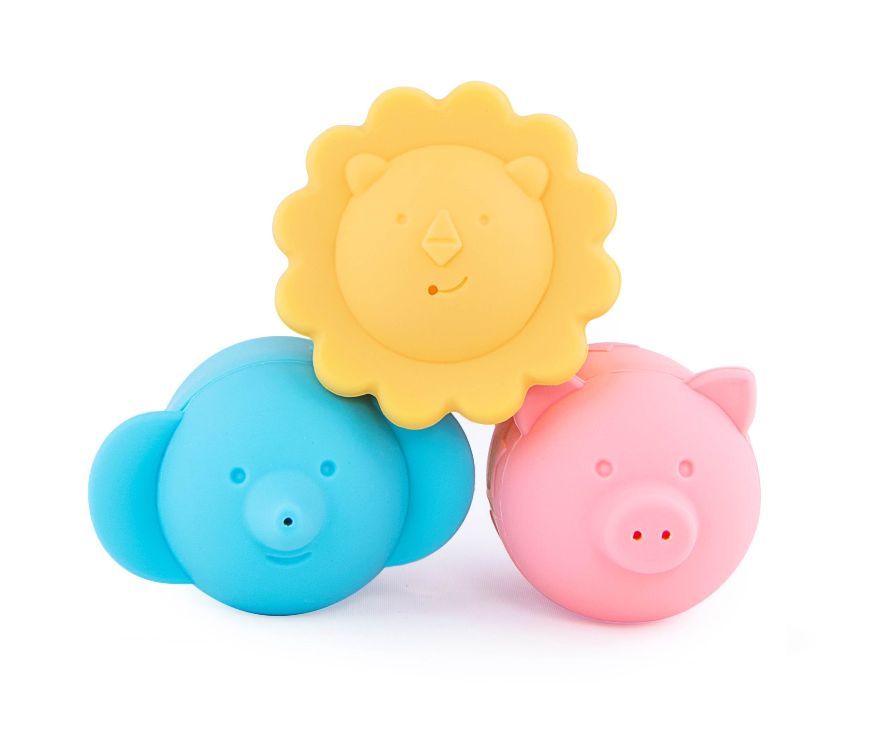 Giggles and Pebbles Silicone Shower Bath Toys