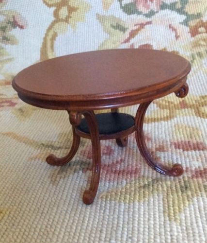 Bespaq Table Dining Stand 1:12 Dollhouse Miniature