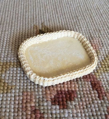 Basket Wicker Tray 1:12 Dollhouse Miniature