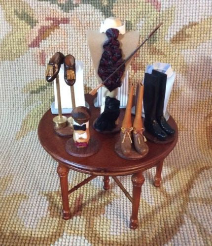 Bespaq Table Dressed 1:12 Dollhouse Miniature