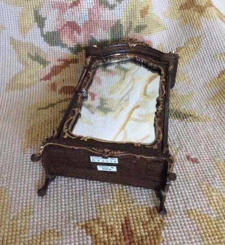 Bespaq Cabinet Closet Armoire Wardrobe Press 1:12 Dollhouse Miniature