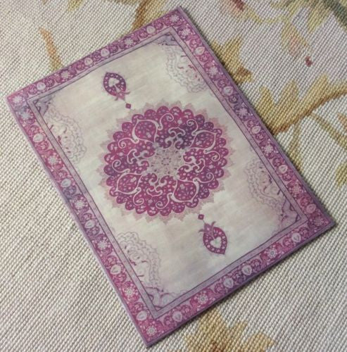 Floorcloth Rug Carpet 1:12 Dollhouse Miniature