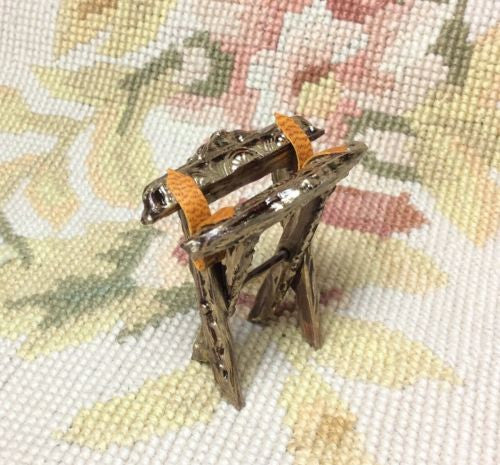 Luggage Rack Serving Tray Stand Holder 1:12 Dollhouse Miniature