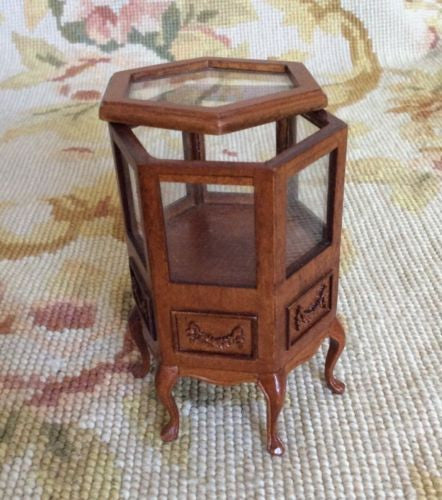 Bespaq Counter Cabinet Table Six Sided 1:12 Dollhouse Miniature