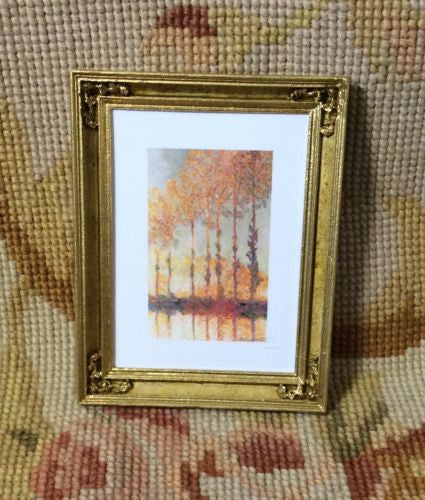Painting Picture Medium 1:12 Dollhouse Miniature Art