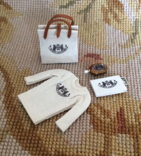 T-Shirt Book Journal Bag Designer 1:12 Dollhouse Miniature