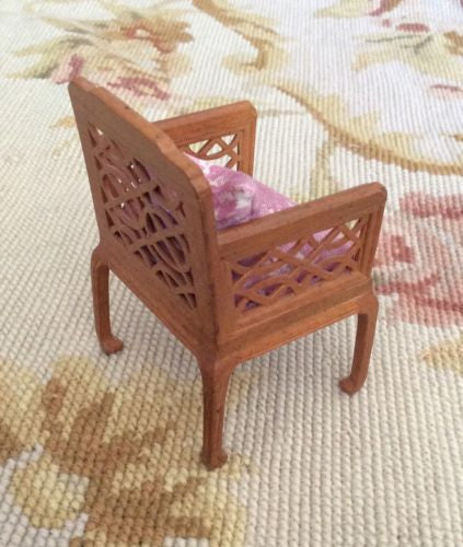 Bespaq Chair Seat Chaise 1:12 Dollhouse Miniature