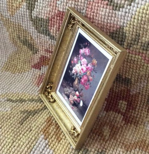 Painting Picture 1:12 Dollhouse Miniature Art
