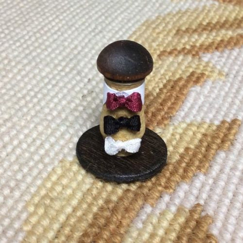 Bow Tie Shelf Filler Display 1:12 Dollhouse Miniature