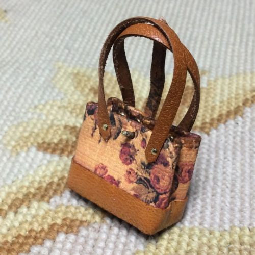Purse Bag Luggage Valise Handbag Medium 1:12 Dollhouse Miniature