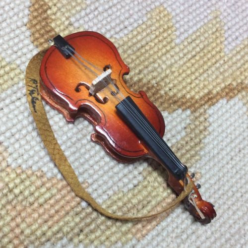 Guitar Musical String Percussion Instrument 1:12 Dollhouse Miniature