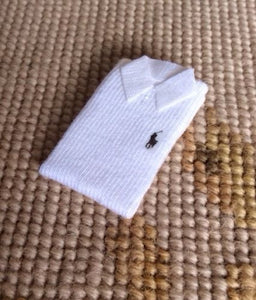 Shirt Polo Non Wearable 1:12 Dollhouse Miniature