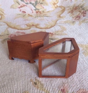 Bespaq Counter Bookcase Shelf Cabinet Showcase Cupboard 1:12 Dollhouse Miniature