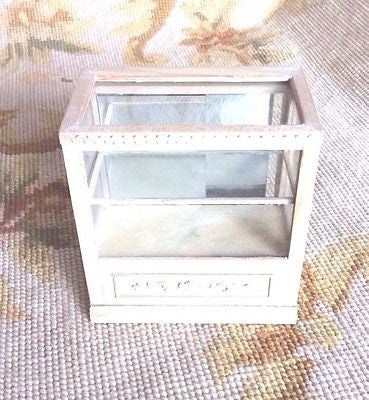 Bespaq Counter Shelf Cabinet Showcase Cupboard 1:12 Dollhouse Miniature