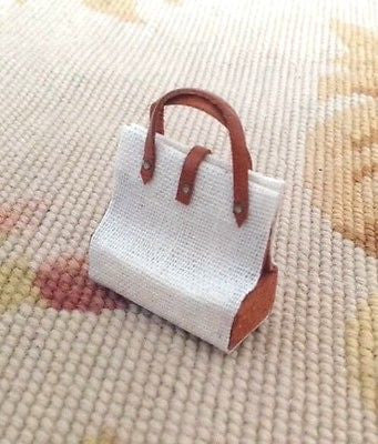 Purse Bag Luggage Valise Handbag Satchel Designer 1:12 Dollhouse Miniature