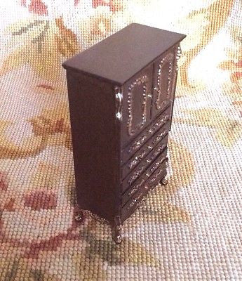 Bespaq Chest Cabinet 1:12 Dollhouse Miniature
