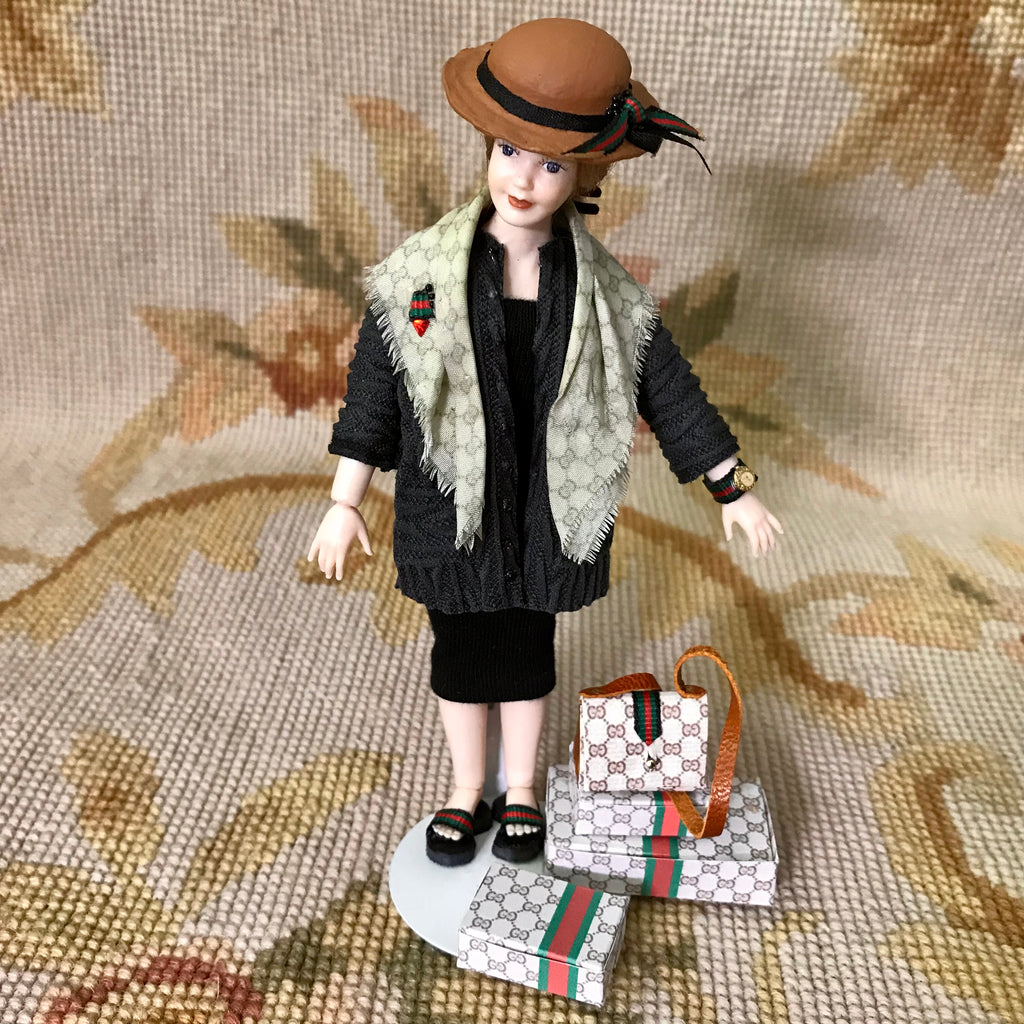 Doll Wearable Clothing Outfit Collection Designer Heidi Ott 1:12 Dollhouse Miniature