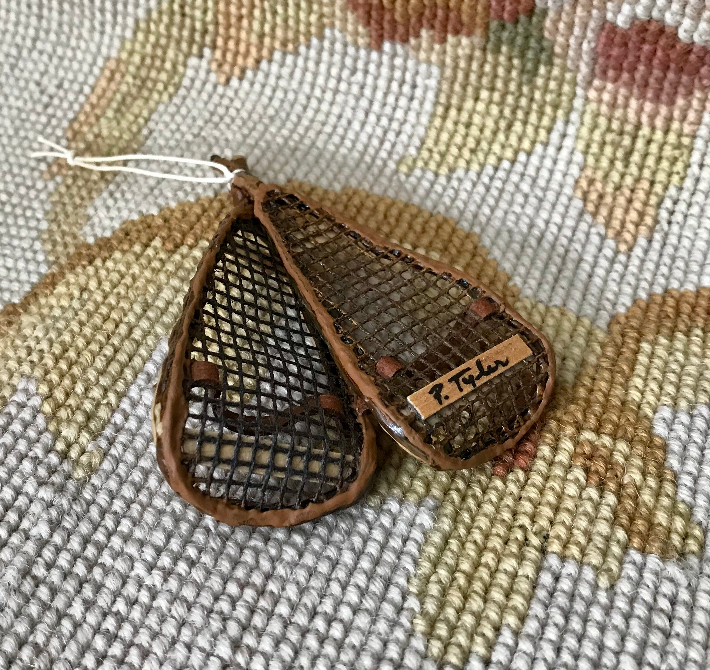 Snow Shoes 1:12 Dollhouse Miniature
