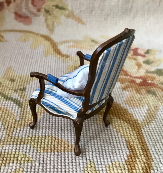 Bespaq Chair Seat Lounge Settee with Pillow 1:12 Dollhouse Miniature