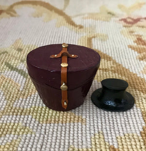 Luggage Bag Suitcase Satchel Valise Grip Top Hat Box 1:12 Dollhouse Miniature
