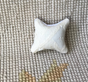 Pillow Cushion Blue 1:12 Dollhouse Miniature
