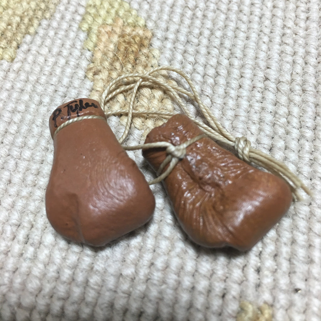 Boxing Gloves Leather 1:12 Dollhouse Miniature