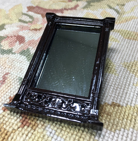 Bespaq Mirror Looking Glass 1:12 Dollhouse Miniature