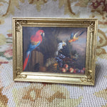 Painting Picture Birds Large 1:12 Dollhouse Miniature Art