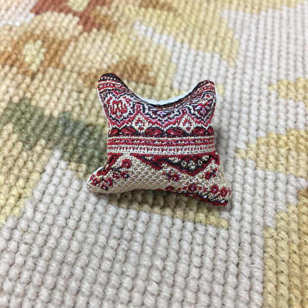 Pillow Bed Sofa Chair Cushion Tapestry 1:12 Dollhouse Miniature