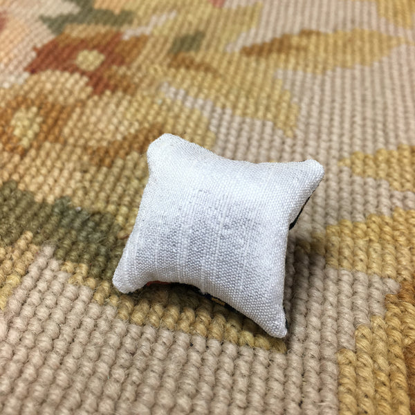 Pillow Bed Sofa Chair Cushion Books & Sphere 1:12 Dollhouse Miniature