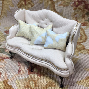 Pillow Cushion Tan 1:12 Dollhouse Miniature