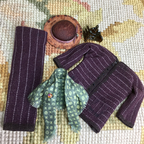 Doll Clothing Outfit Collection Designer Heidi Ott 1:12 Dollhouse Miniature