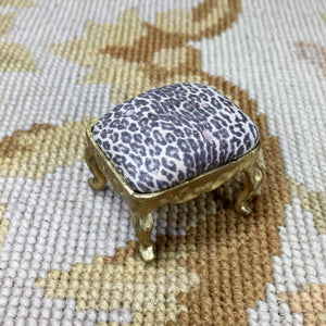 Stool Ottoman Seat 1:12 Scale SPECIAL ORDER Dollhouse Miniature