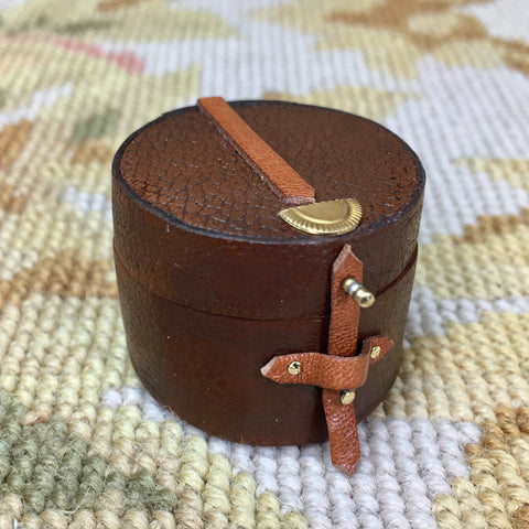 Luggage Bag Suitcase Satchel Valise Grip Hat Box Small 1:12 Dollhouse Miniature