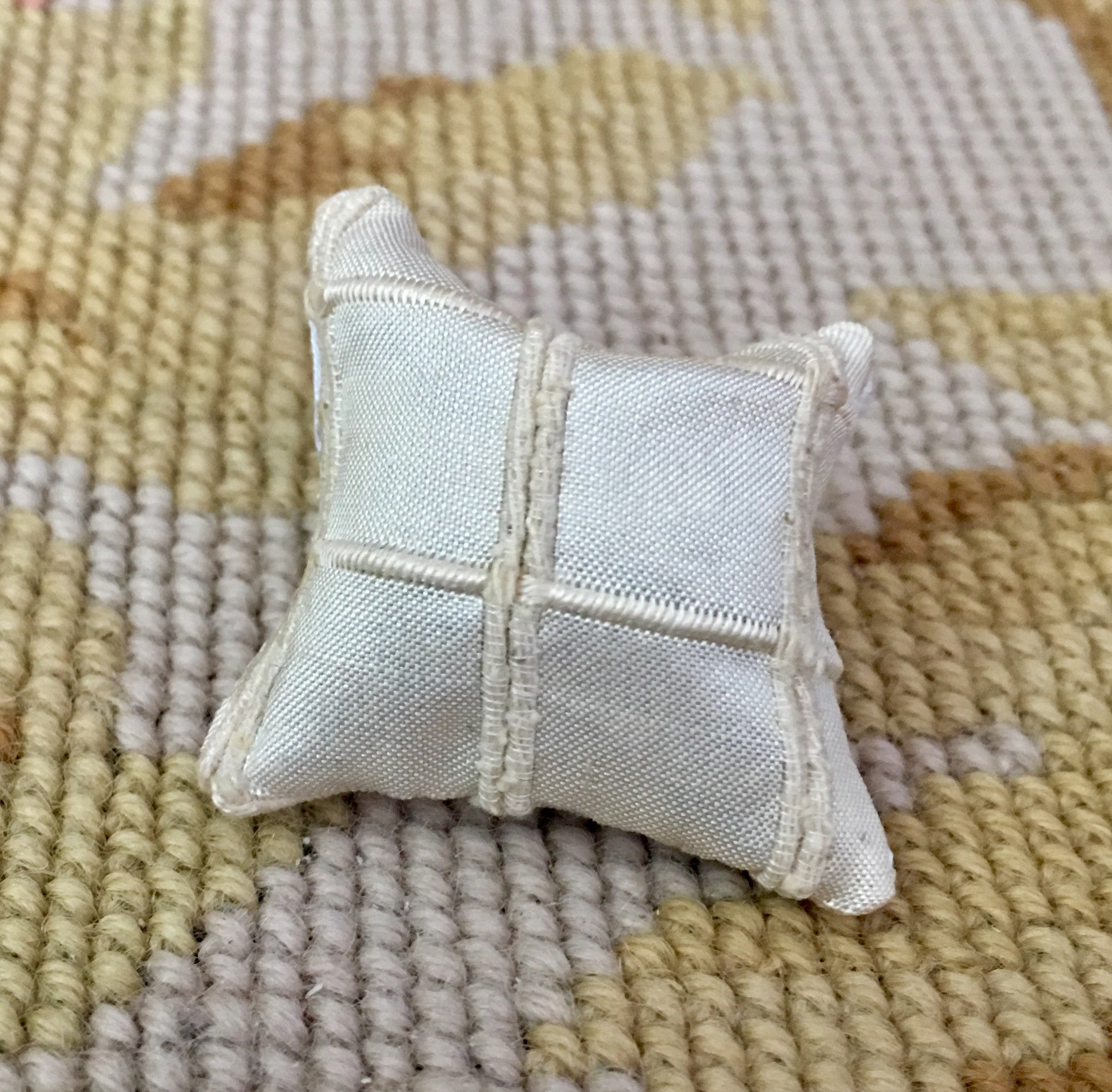 Pillow Cushion Sand 1:12 Dollhouse Miniature