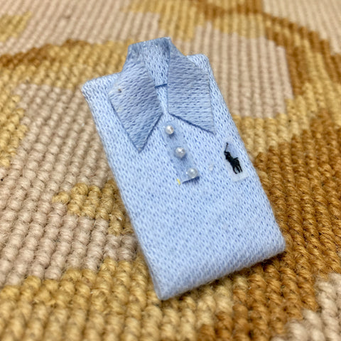 Shirt Polo 1:12 Dollhouse Miniature