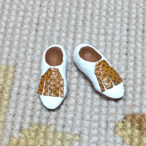 Golf Shoes 1:12 Dollhouse Miniature