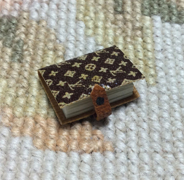 Journal Book Designer 1:12 Dollhouse Miniature