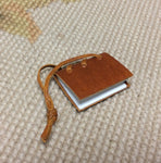 Journal Book Leather 1:12 Dollhouse Miniature