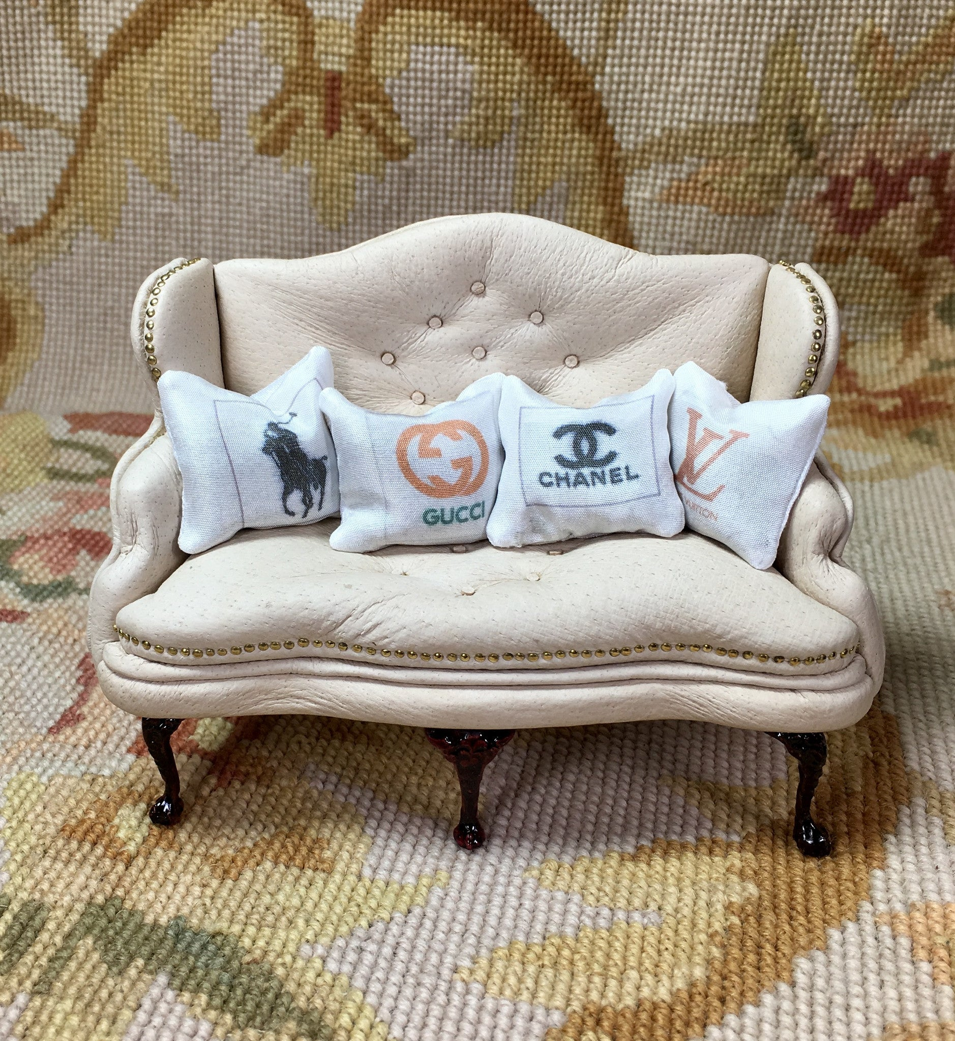 Pillow Cushion Designer 1:12 Dollhouse Miniature