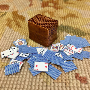 Card Box Container Case Lizard 1:12 Dollhouse Miniature