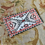 Floorcloth Rug Carpet 1:12 Dollhouse Miniature Southwest