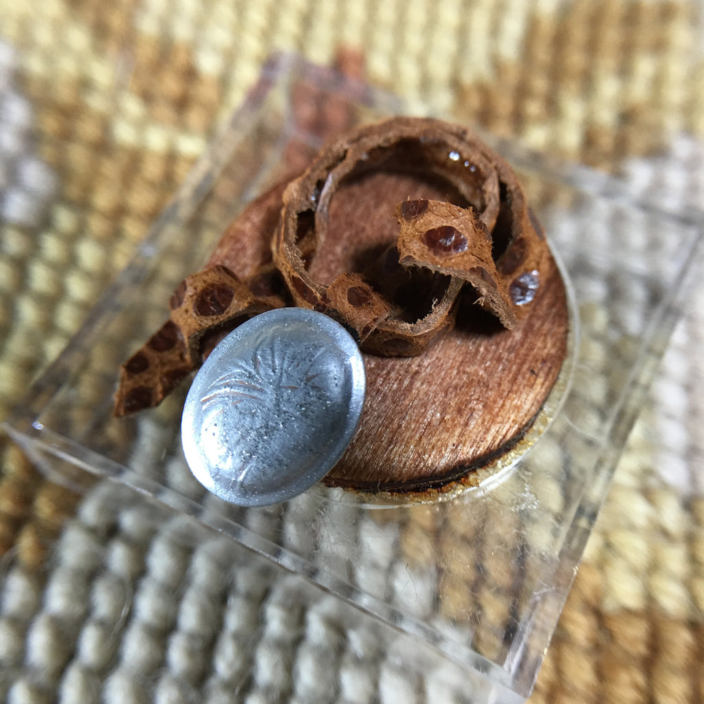 Belt Brown Genuine Snakeskin Leather 1:12 Dollhouse Miniature