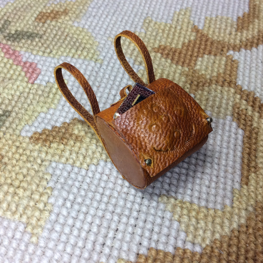 Luggage Backpack Suitcase 1:12 Dollhouse Miniature