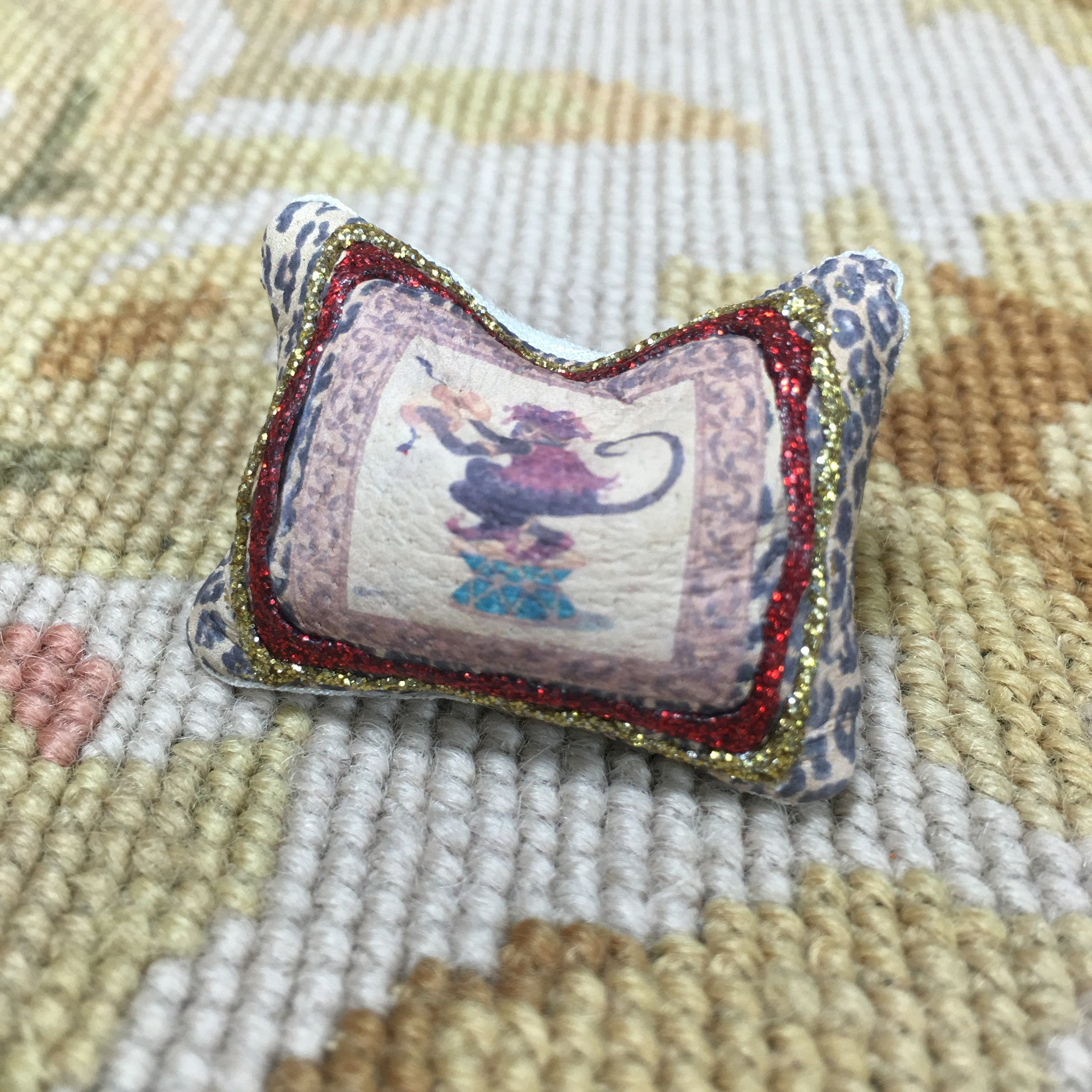 Pillow Cushion Monkey #2 - 1:12 Dollhouse Miniature