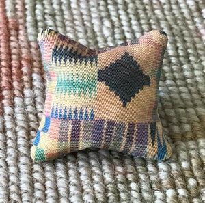 Pillow Cushion African Print 1:12 Dollhouse Miniature