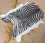 Floorcloth Rug Carpet Large Zebra 1:12 Dollhouse Miniature